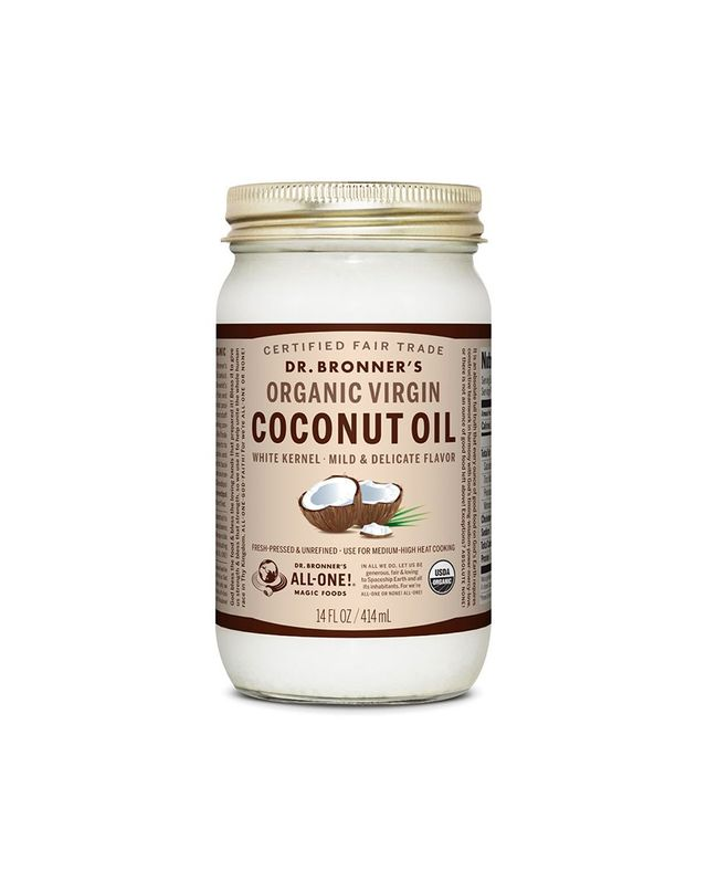 Dr. Bronner's Virgin Organic Coconut Oil White Kernel