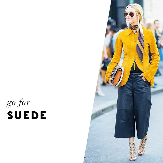 A rich fabric like suede always looks expensive—even if it's not! Even the under-£100 options appear high-end.