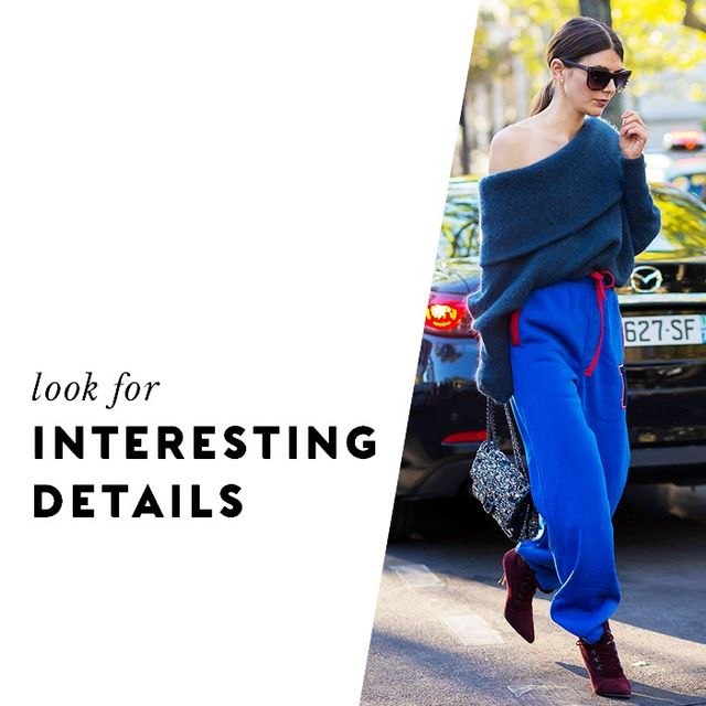 Items with unique details that feel unexpected look high-concept and therefore come across as more expensive.