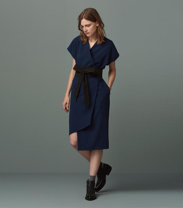 Finery Sanford Obi Wrap Dress
