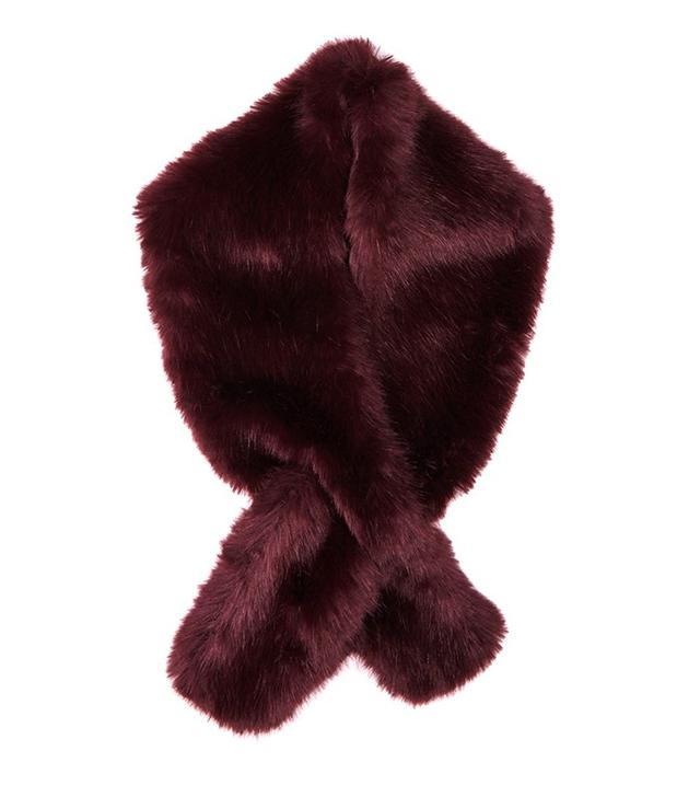 Jigsaw Faux Fur Stole