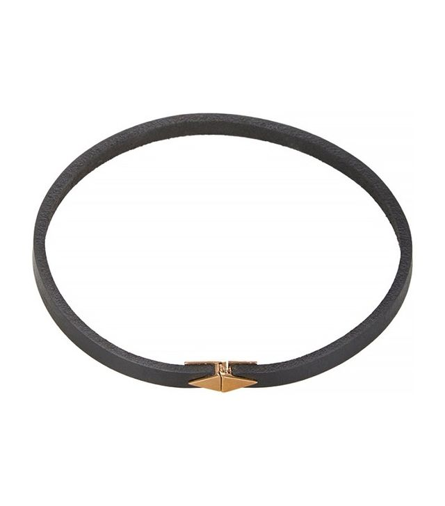 Wendy Nichol Bronze & Leather Choker