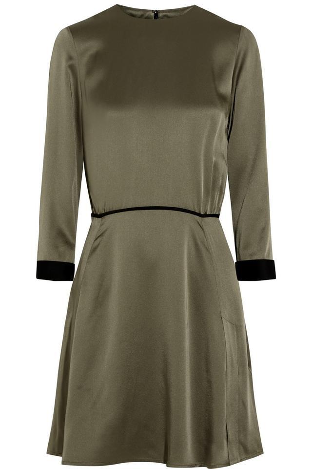 Victoria, Victoria Beckham Satin Dress