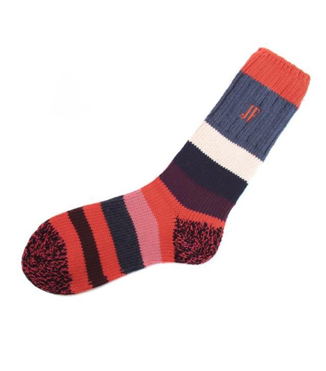 John Fluevog Striped Socks