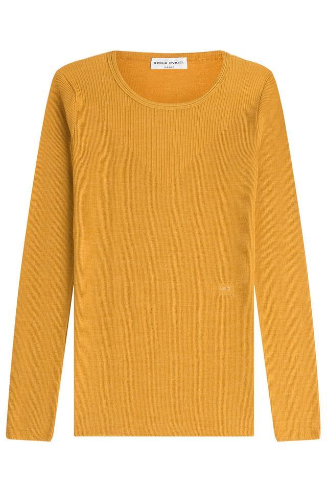 Sonia Rykiel Wool-Silk Pullover