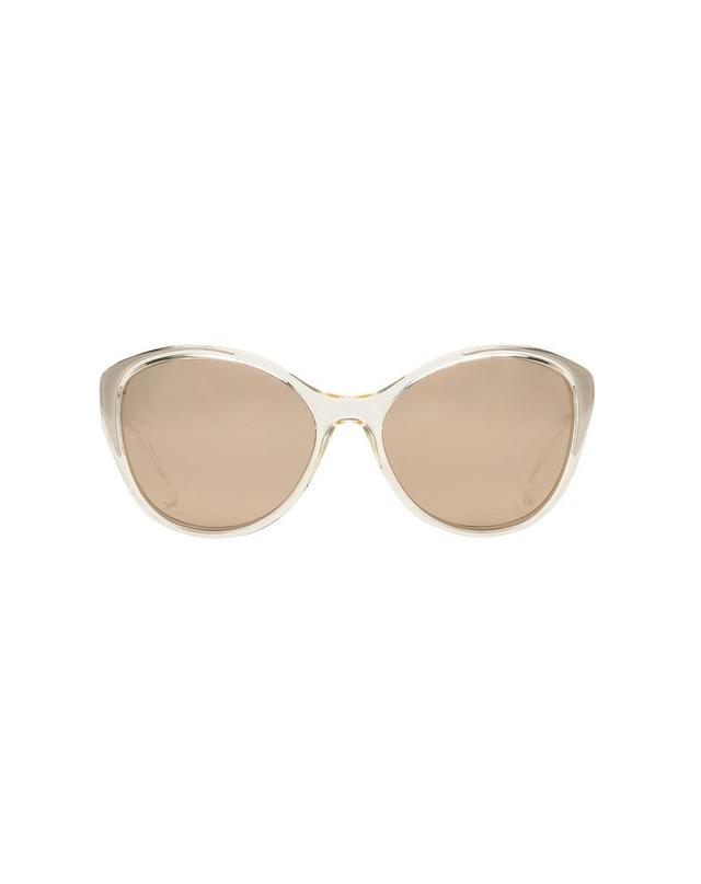 Dolce & Gabbana Clear Cat Sunglasses