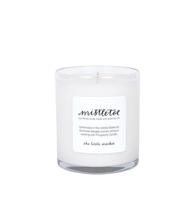 The Little Market Mistletoe Soy Blend Candle