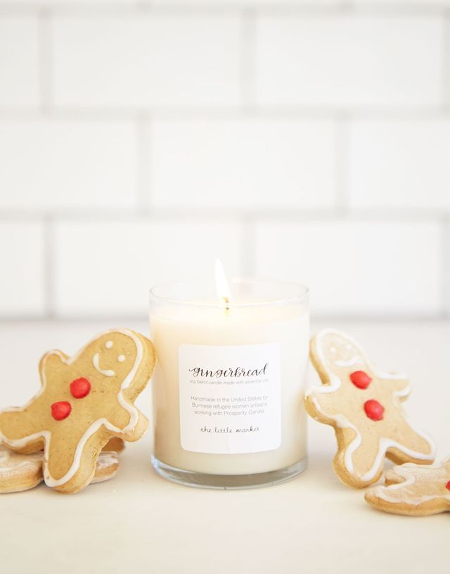 The Little Market Gingerbread Soy Blend Candle