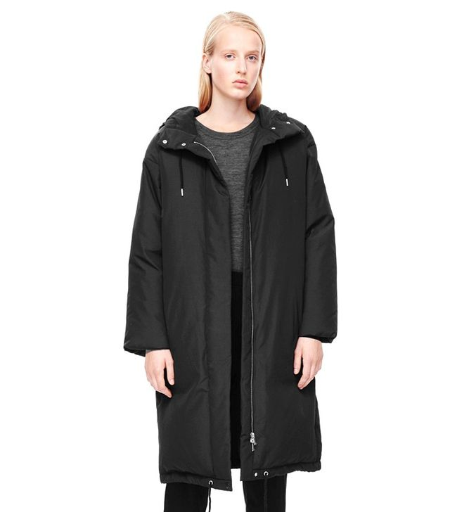 COS Oversized Quilted Coat