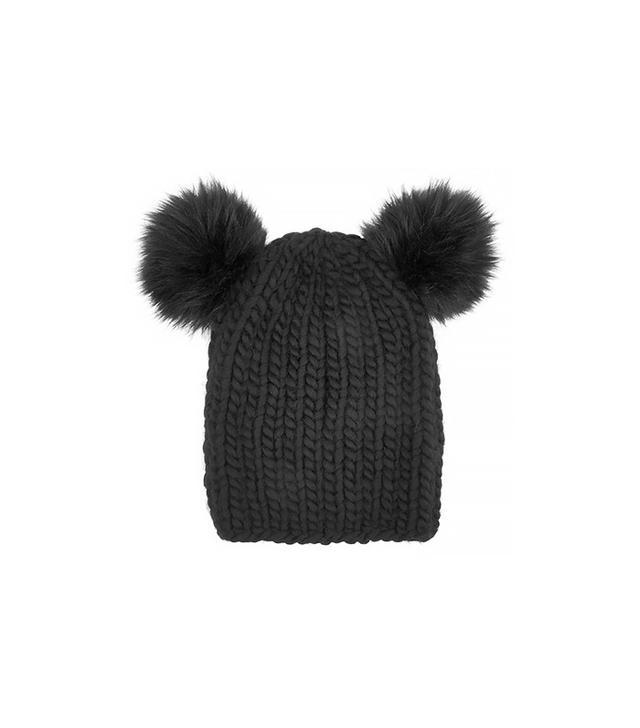 Eugenia Kim Mimi Faux Fur-Trimmed Wool Beanie