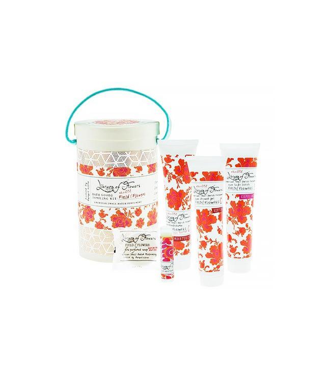 Library of Flowers Field & Flowers Bath Sampler Kit