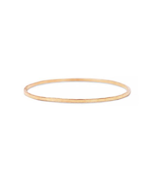 Catbird Threadbare Ring in Rose Gold