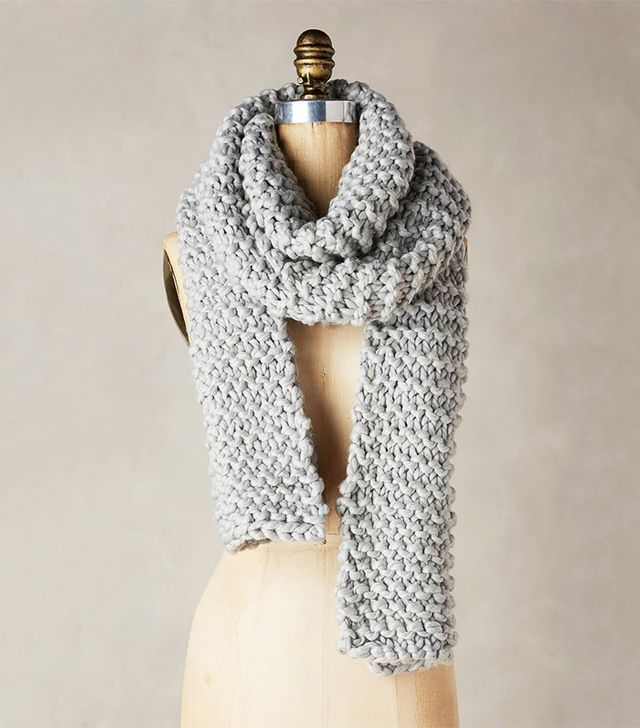 Anthropologie Snow Day Scarf