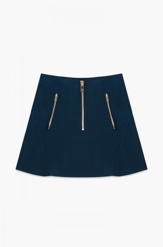 Sonia Rykiel Petrol Blue Skirt