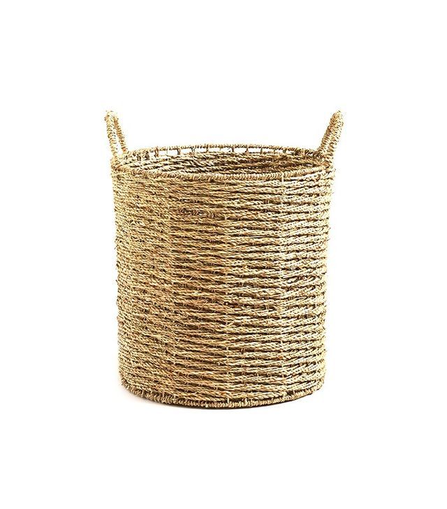 World Market Trista Seagrass Tote Basket