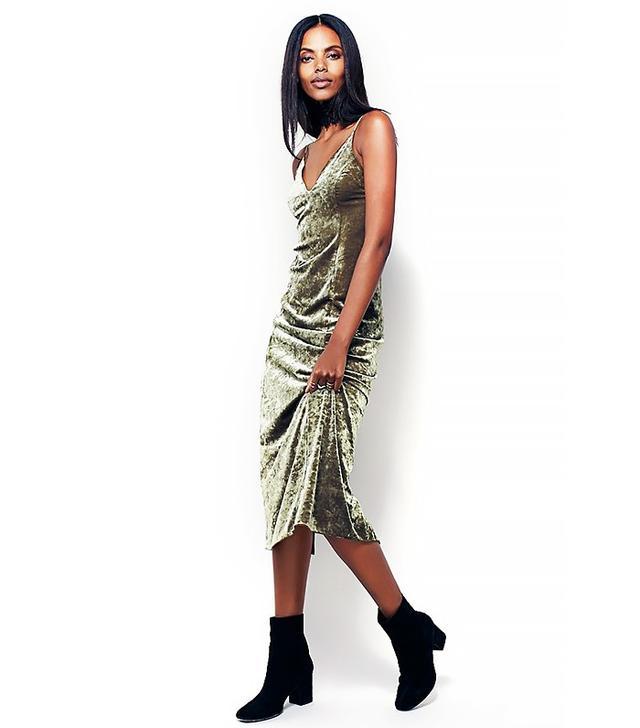 Free People Velvet Lengths Maxi Slip Dress