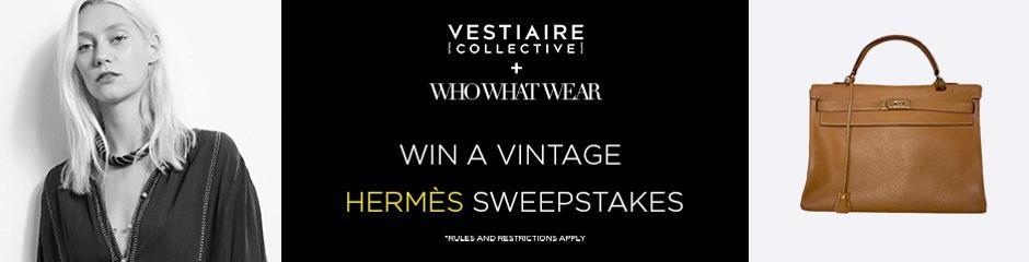 Win a Vintage Hermès Sweepstakes