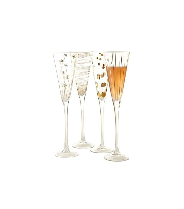 Neiman Marcus Champagne Flutes
