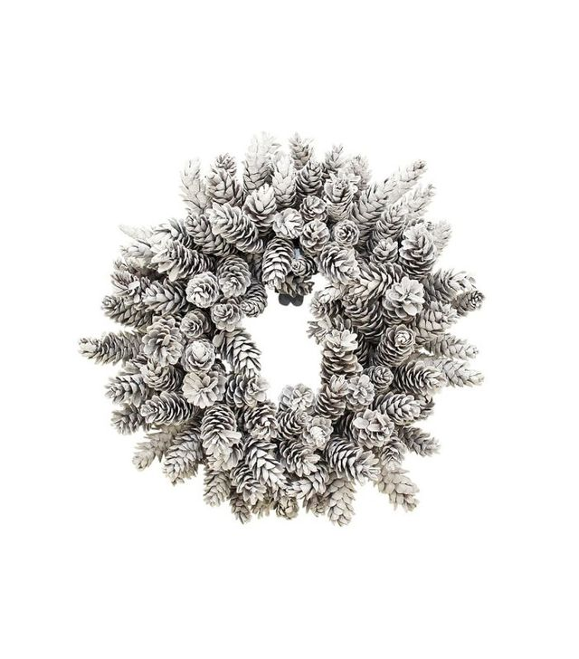 Williams Sonoma Pinecone Wreath