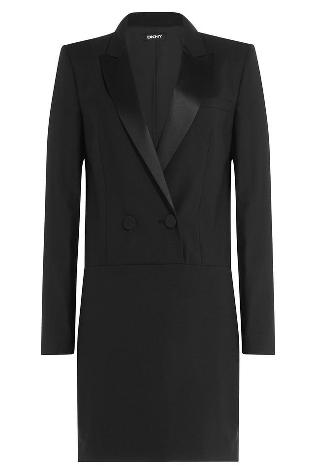 DKNY Wool Blazer Dress