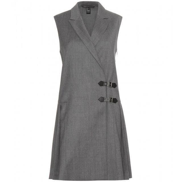 Marc by Marc Jacobs Tuxedo Pinafore Wool Dress