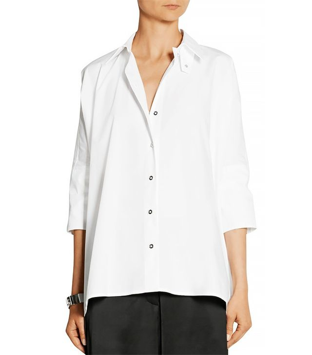 MM6 Maison Margiela Oversized Cotton-Poplin Shirt
