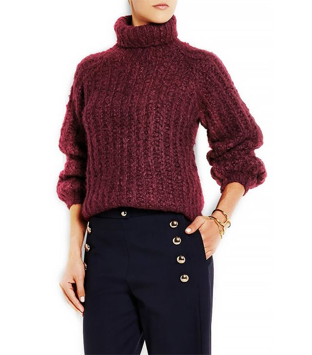 Chloé Mohair and Wool-Blend Turtleneck Sweater