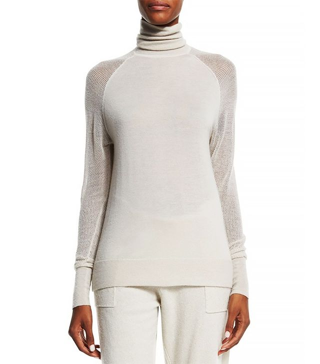Donna Karan Cashmere Turtleneck Sweater