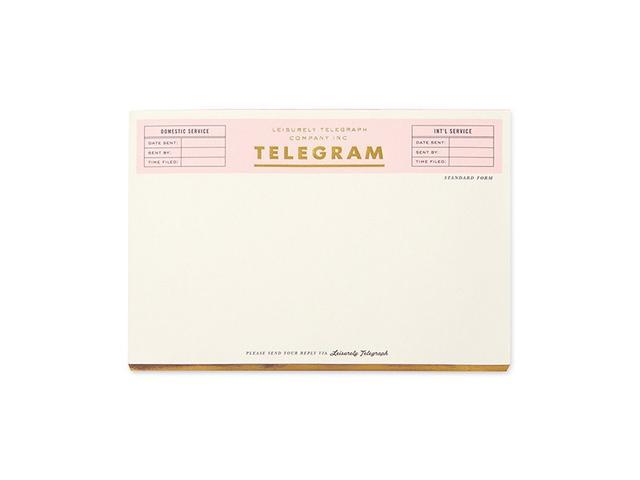 Kate Spade New York Telegram Notepad