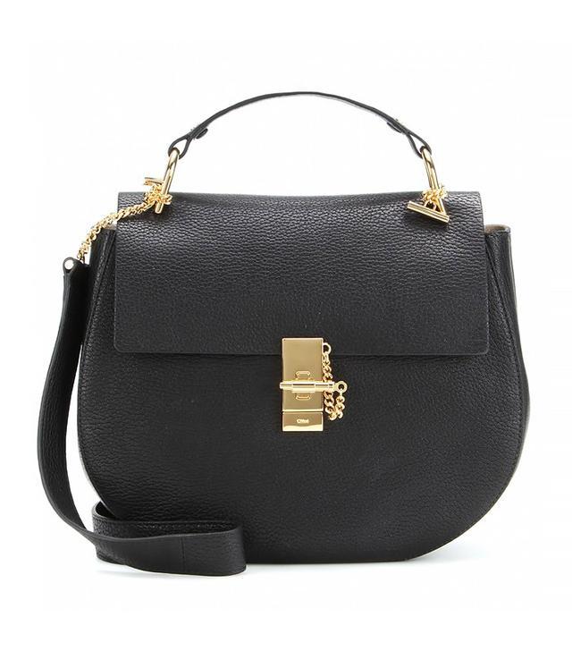 Chloé Drew Large Leather Shoulder Bag