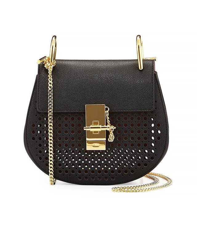 Chloé Drew Perforated Mini Shoulder Bag