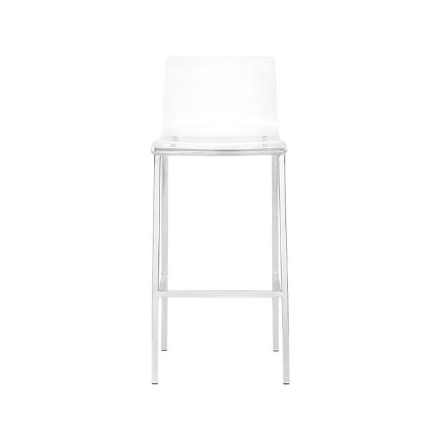 CB2 Vapor Acrylic Bar Stool