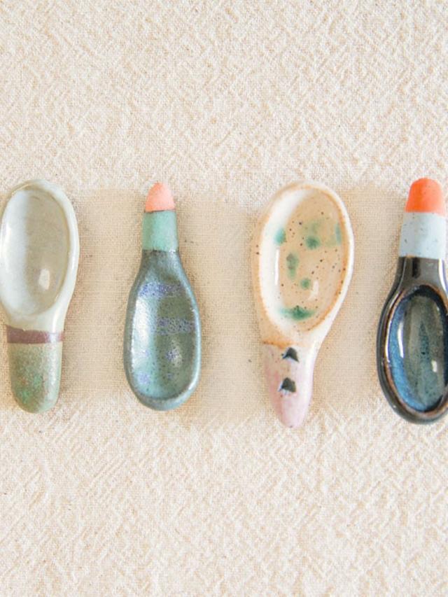 Shino Takeda Salt Spoon