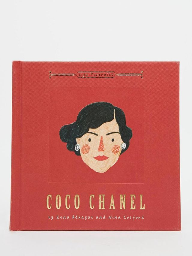 Coco Chanel Life Portraits Book by Zena Alkayat and Nina Cosford