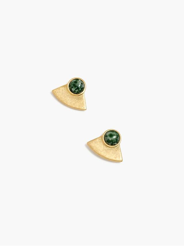 Madewell Ocean Agate Earrings