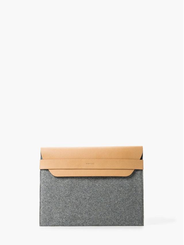 Mango Bicolor Envelope Clutch
