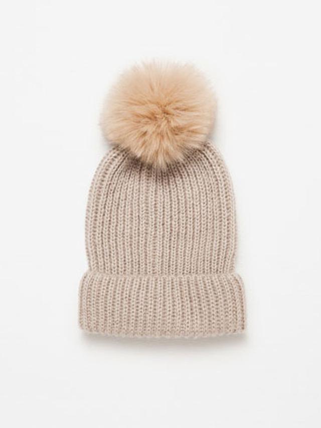 Zara Pom-Pom Hat