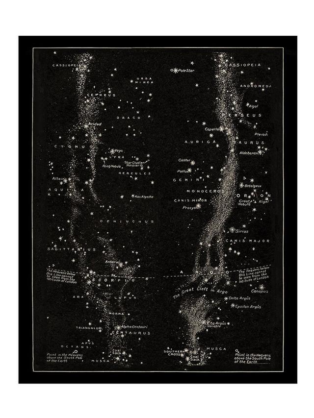 Lauren Canyon Dreaming Antique Milky Way Print