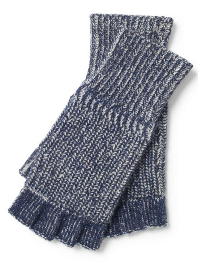 Ralph Lauren Merino Wool Fingerless Gloves