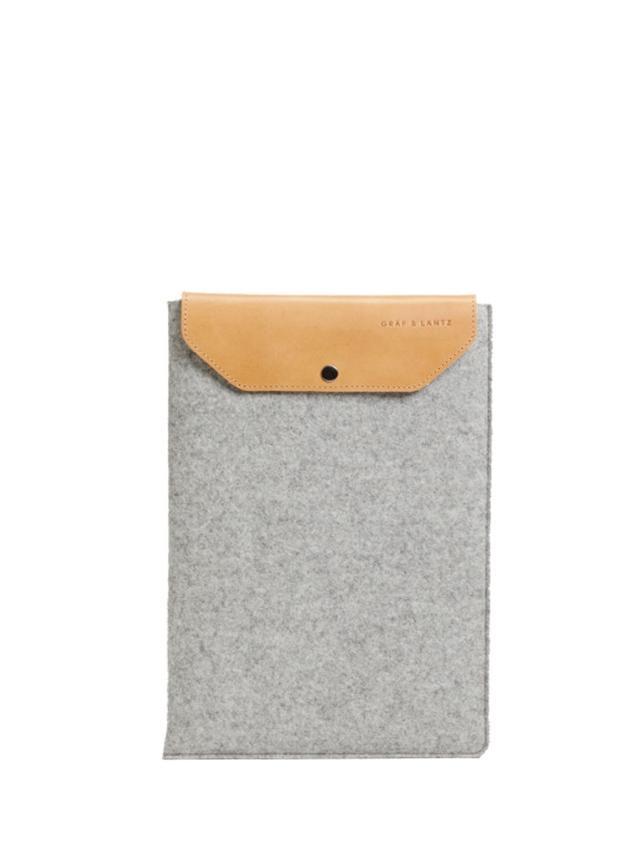 Graf & Lantz Macbook Air Sleeve Grey
