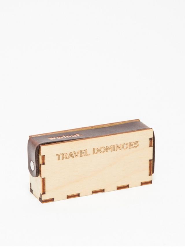 Monocle Walnut Studiolo Travel Dominoes