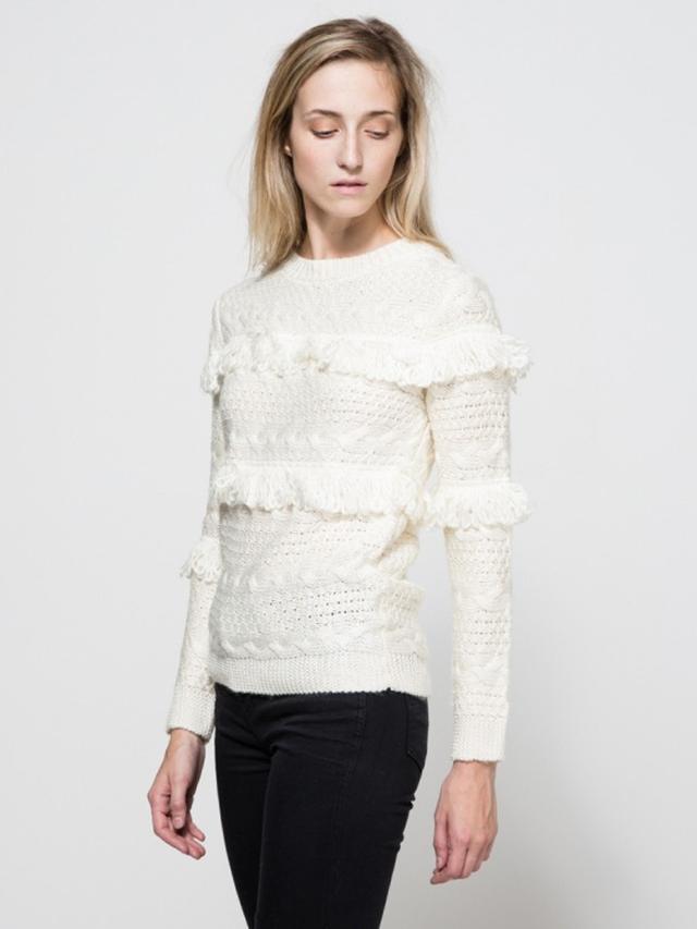 Need Supply Co. Arcadia Fringe Sweater