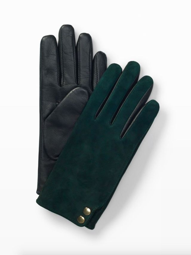 Club Monaco Fia Mixed-Media Glove