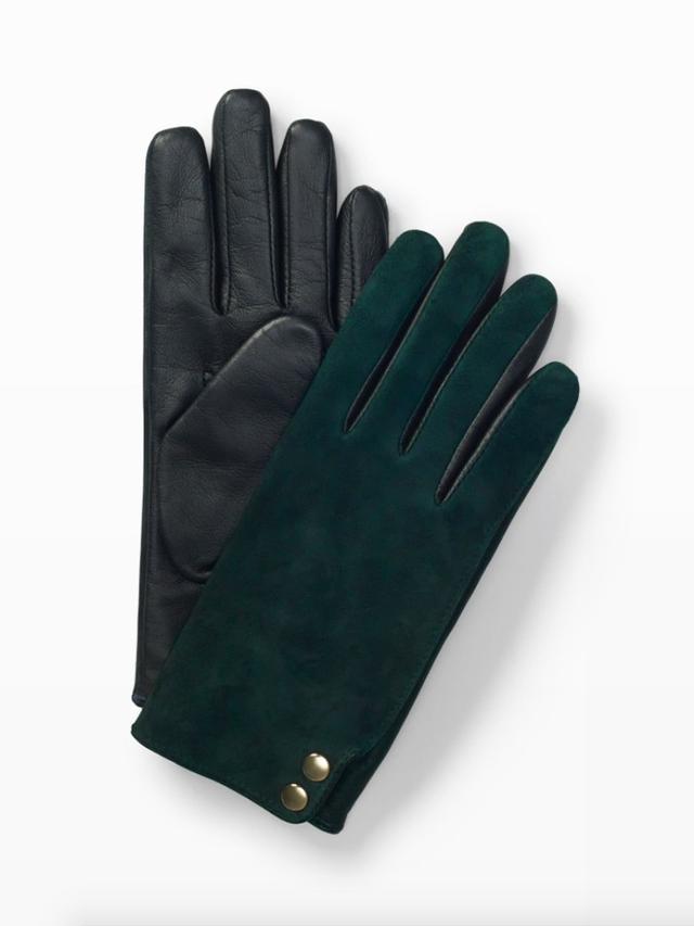 Club Monaco Fia Mixed-Media Glove