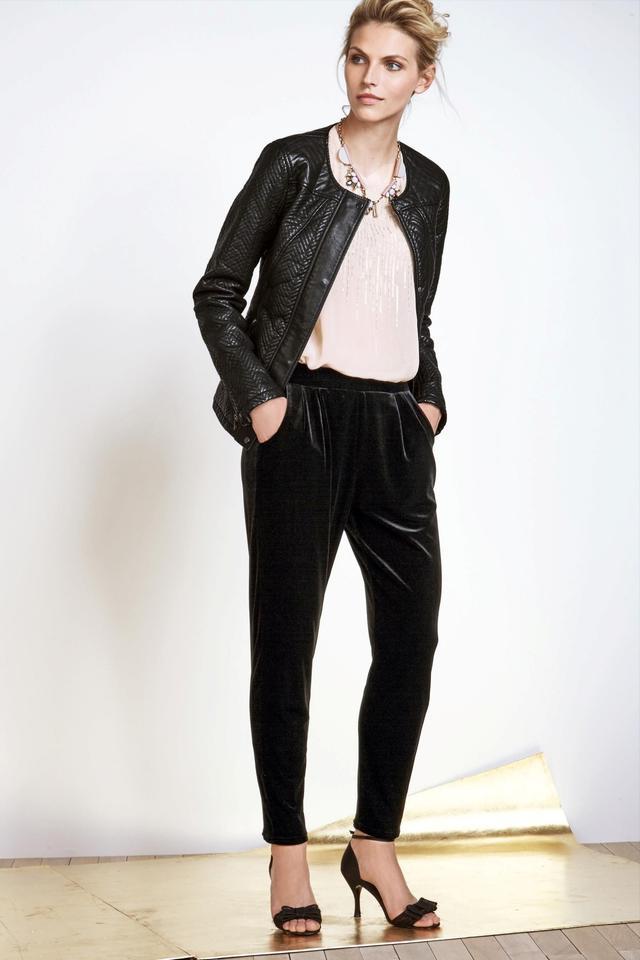 NEXT Velvet Tapered Trousers