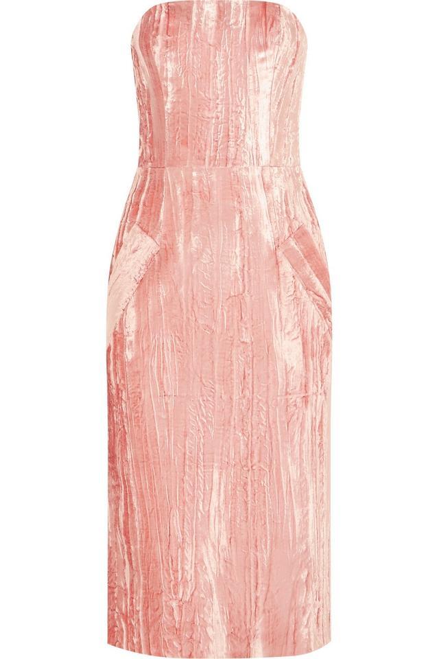 Topshop Unique Velvet Dress