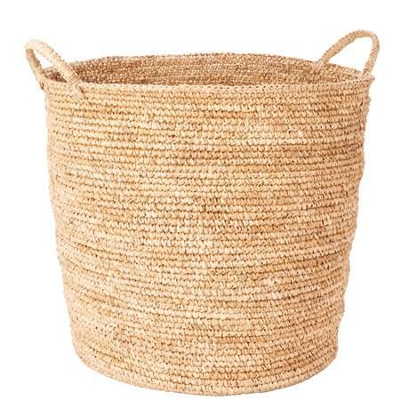 Freedom Vivid Basket 2 Handle Large in Natural