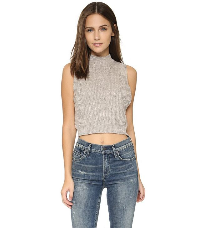 Rolla's Crop Sweater Tank