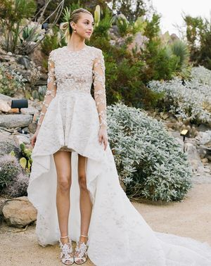 Whitney Port's Wedding Hairstyle is Unexpected and Amazing