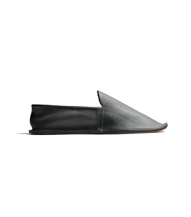 Andrew McAteer Men's Leather House Shoes